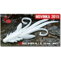 Nymfa Redbass Nr. 1 XL White 130 mm