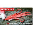 Nymfa Redbass Nr. 1 XL Red/White 130 mm