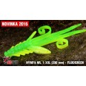 Nymfa Redbass Nr. 1 XXL Fluo/Green 200 mm