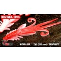 Nymfa Redbass Nr. 1 XXL Red/White 200 mm