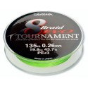 Šňůra Daiwa Tournament 8 Braid EVO 135 m Chartreuse