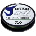 Šňůra Daiwa J-Braid X4 270 m Green