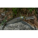 Wobler Majorcraft Zoner Jerk Bait 90 SP Ghost Wakasagi