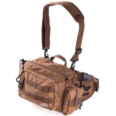 Ledvinka Abu Garcia Hip Bag Large 2 Coyote Brown