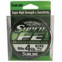 Šňůra Sunline Super PE 150 m Dark Green