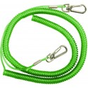 DAM Safety Coil Cord with Snap Lock