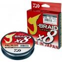Šňůra Daiwa J-Braid Grand X8 135 m Light Grey