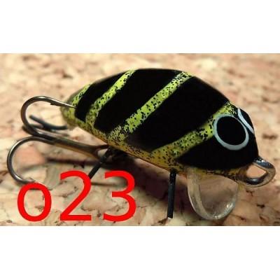 Wobler Stepanowa Hmyz 2,5 cm o23