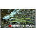 Nymfa Redbass Nr. 1 Olive/Sliver