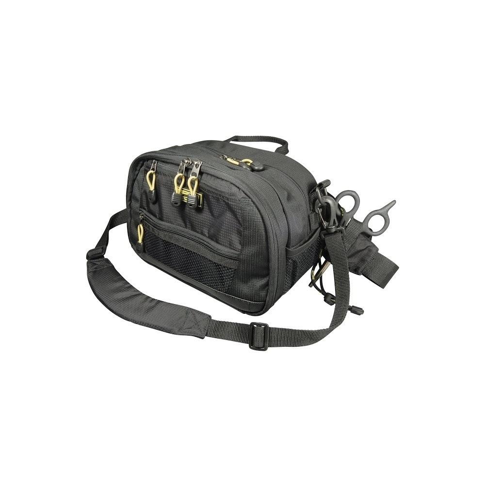 Ledvinka spro sling hip pack 2 krabi ky velk ryba for Spiderwire sling fishing backpack