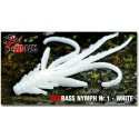 Nymfa Redbass Nr. 1 White 53 mm