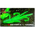 Nymfa Redbass Nr. 1 L Fluo/Green 80 mm