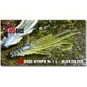 Nymfa Redbass Nr. 1 L Olive/Silver 80 mm