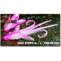 Nymfa Redbass Nr. 1 L Pink/Silver 80 mm