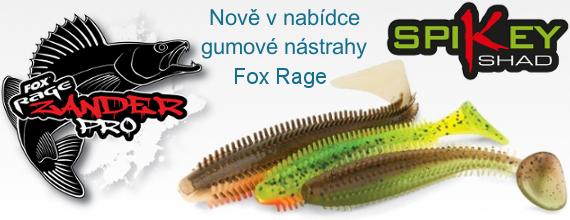 Gumové nástrahy Fox Rage