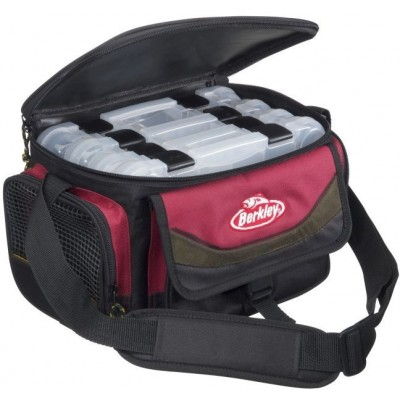Taška Berkley System Bag 2015 Red/Black M + 4 krabička
