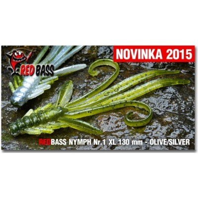 Nymfa Redbass Nr. 1 XL Olive/Silver 130 mm