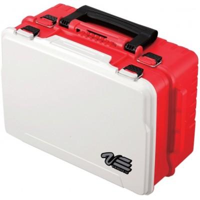 Rybářský kufr Versus VS 3078 červený (43x29,5x18,6)
