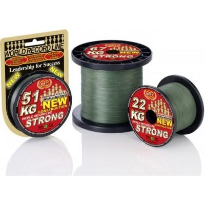 Šňůra WFT KG Strong Green 150 m