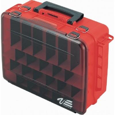 Rybářský kufr Versus VS 3080 červený (48x35,6x18,6)