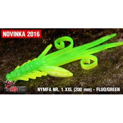Nymfa Redbass Nr. 1 XXL Fluo/Green 200 mm
