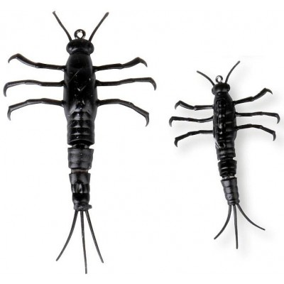 Nymfa Savage Gear 3D TPE Mayfly Nymph 5 cm Black