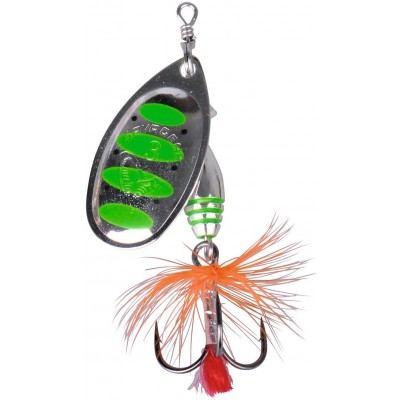 Třpytka Savage Gear Rotex Spinner 3 6g Green Highlander