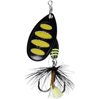 Třpytka Savage Gear Rotex Spinner 3 6g Black Bee