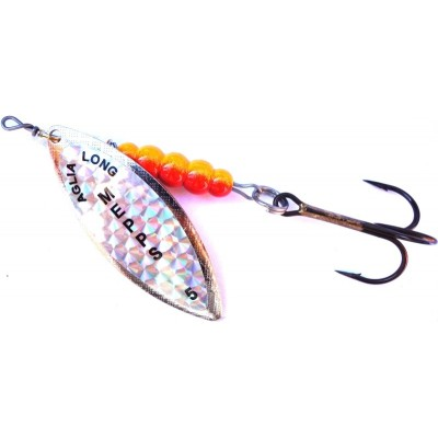 Spinner Mepps Aglia Long Pearl Silver 4