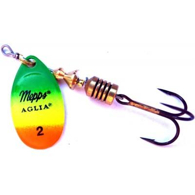Spinner Mepps Aglia Fluo Firetiger 2