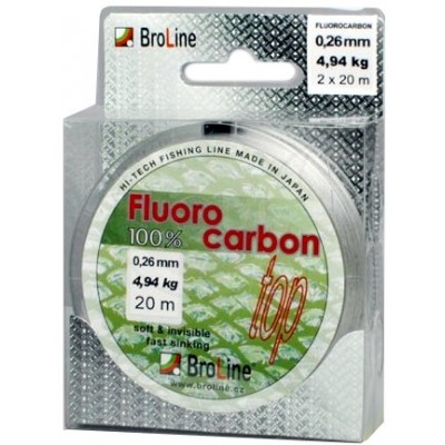 Fishing Line BroLine 100% Fluorocarbon