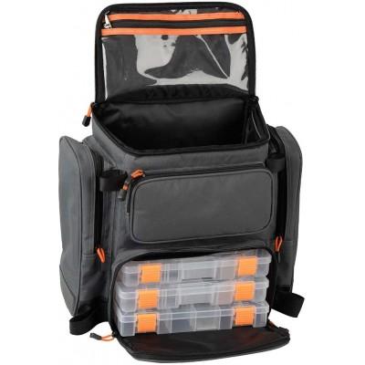 Batoh Savage Gear Lure Specialist Rucksack M + 3 krabičky