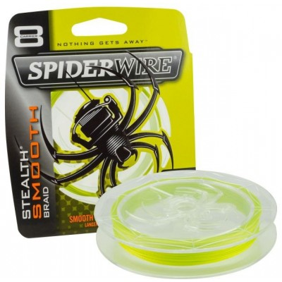 Braid Spiderwire Stealth Smooth8 150 m Yellow