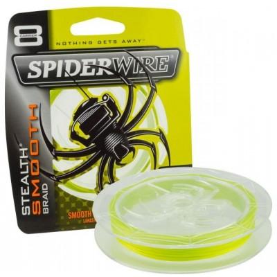 Šňůra Spiderwire Stealth Smooth8 150 m žlutá