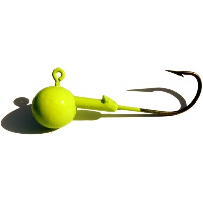 Jig Head VMC 30g Fluo Yellow