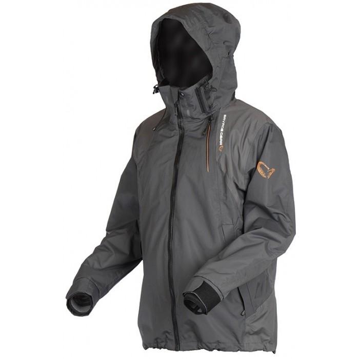 Rybářská bunda Savage Gear Black Savage Jacket