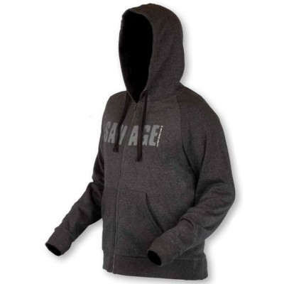 Mikina Savage Gear Simply Savage Zip Hoodie