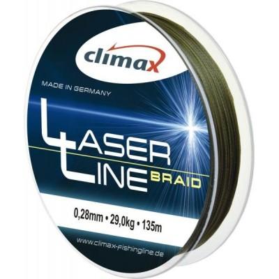 Šňůra Climax Laser Line Braid 135 m Dark Olive