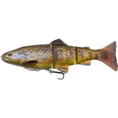 Savage Gear 4D Line Thru Trout 15 cm 35 g Dark Brown Trout