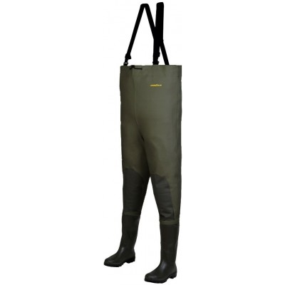 Wading Pants Goodyear Waders Le Combi SP Green