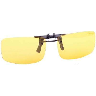 Polarizační klip Gamakatsu G-glasses Clip on Glass Amber
