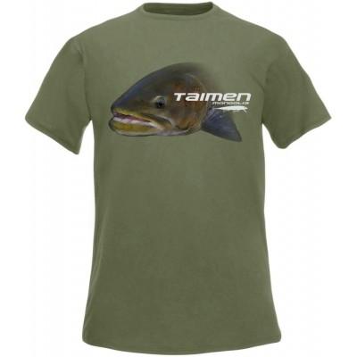 Rybářské tričko Flotsam Tajmen I - Olive