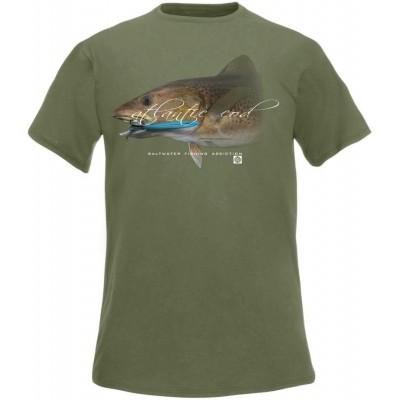 Rybářské tričko Flotsam Treska I - Olive
