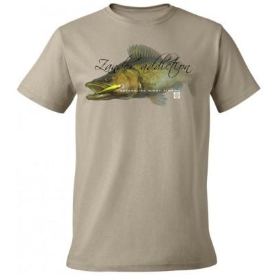 Rybářské tričko Flotsam Candát I - Khaki