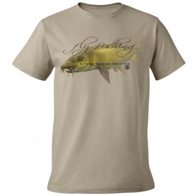 Rybářské tričko Flotsam Parma s muškou I - Khaki