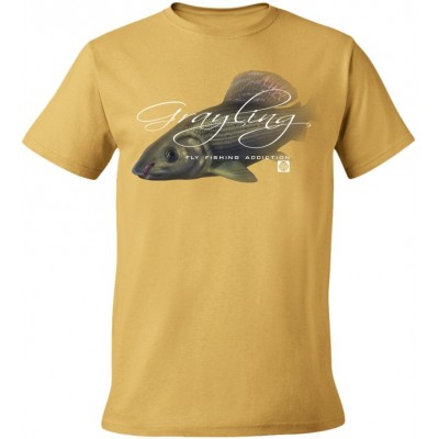 T-Shirt  Flotsam  Grayling Fly I - Tan