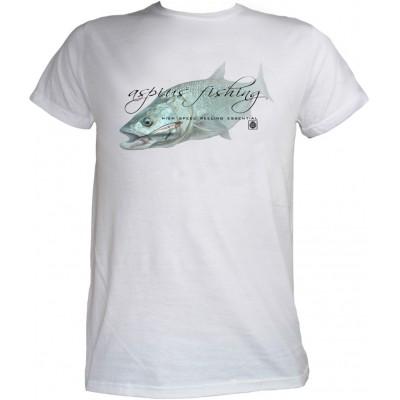 Rybářské tričko Flotsam Bolen I - White