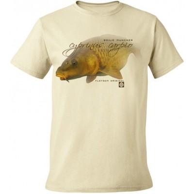Rybářské tričko Flotsam Kapr II - Natural