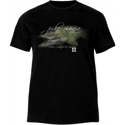 T-Shirt  Flotsam Pike with Lure I - Black