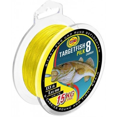 Braid WFT Targetfish Pilk Yellow 220 m